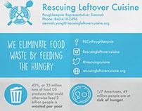 Rescuing Leftover Cuisine (RLC) Poughkeepsie Poster