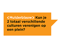 Mulderblauw website