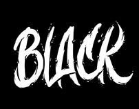 Black & White illustration for clothes