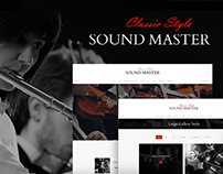 Sound Master | Music Band Template