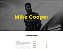 Mini - Onepage Personal Portfolio WordPress Theme