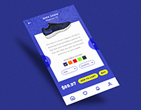 Nike - Check Out Shop Mobile User Interface Concept.