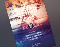 Beach Vibes Flyer