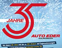 KAMPAGNE: 35 Jahre Auto Eder Kolbermoor