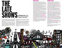 NARC. Magazine, May 2015 - The Late Shows Feature