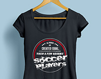 T shirts Design for Sports Players