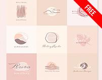 Free Elegant Logo Set