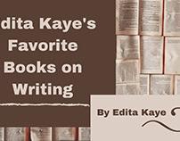 Edita Kaye's Favorite Books On Writing
