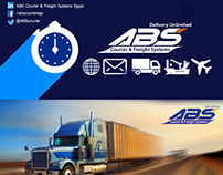 Social Media visuals(ABS courier)