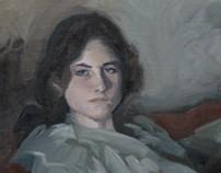 Mastercopy- portrait by john Sargent