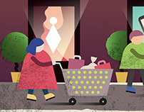 It's All About Shopping Illustration