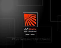 Web site for lighting design company