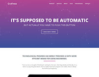 Freedom – Free Bootstrap Landing Page