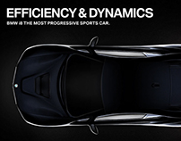 Ad Concept for BMW i8