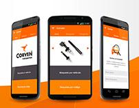 Lanzamiento app Corven latinoamerica