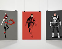 Character Collection 2 - DareDevil, Punisher, Elektra