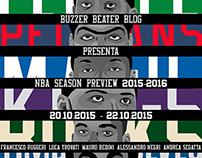Portraits - NBA season preview 2015/2016