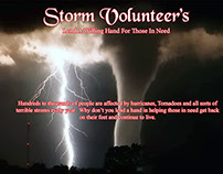 Storm Volunteer's Postcard