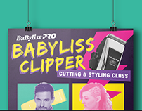 Babybliss Clipper Class Poster