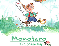 Momotaro, the peach boy - Comic