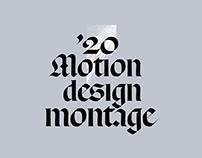 Montage '20