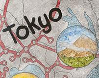 TOKYO MEGA CITY POSTER — STUDY