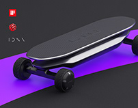 PLMM|Electric Skateboard for Naver Labs