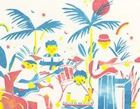 The Band (Paper stencil !)