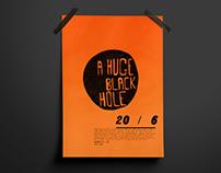 A Huge Black Hole