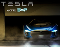 Tesla Model EXP Preview
