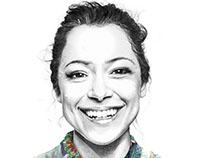 Portrait of Tatiana Maslany