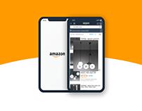 Amazon - App micro interactions redesign