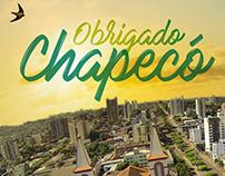 Agradecimento Chapecó/SC - Revista Saúde