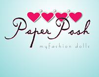 Etsy Listings  ||  Paper Posh, myfashion dolls