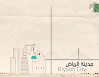 Riyadh City in Illustrator