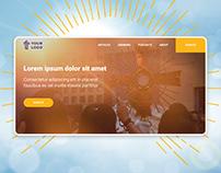 Religion Website Template | FREE Figma
