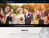 Website Design for Wedding Planners