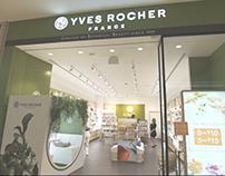 POP UP STORE - YVES ROCHER