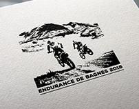Logo for motocross event