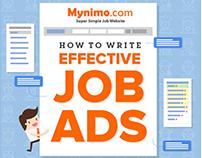 Mynimo.com | Super Simple Job Website