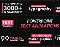 Kinetic Typography Animation in PowerPoint