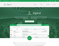 SigaLei - Openlex Website