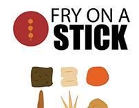 fry on a stick