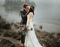 WEDDING PHOTO MANIPULATION (Blurring Background)