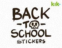 Spooky - Kik Messenger Sticker Pack