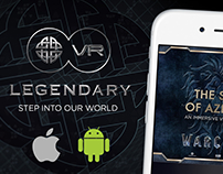 Legendary Pictures - VR Mobile App