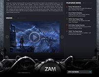 Zam Web Site proposal
