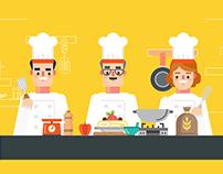 Audaz - Os chefes na Cozinha