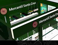 Banco Mercantil Santa Cruz branch Client: RazaAgency