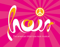 Hair – Love Rock-Musical | Logodesign